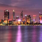 Perth WA  at Night - HDR by Colin  Williams Photography