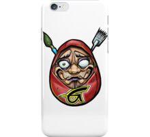 grace tattoo daruma logo iPhone Case/Skin
