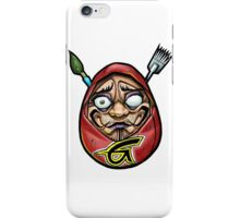grace tattoo daruma logo iPhone Case/Skin