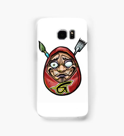 grace tattoo daruma logo Samsung Galaxy Case/Skin