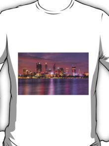 Perth WA  at Night - HDR T-Shirt