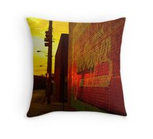 Urban Sunrise Throw Pillow
