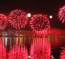 Perth WA Skyworks Australia Day 2015 - 1 - HDR by Colin  Williams Photography