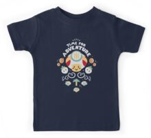 Time for Adventure Toad Kids Tee