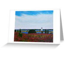 Edgartown Light Greeting Card