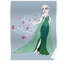 Frozen Fever Elsa Poster