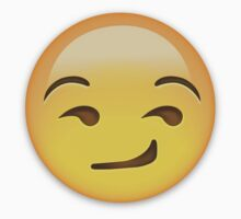 Smirking Face Emoji by emojiprints