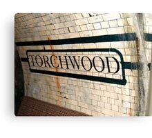 Welcome to Torchwood Canvas Print
