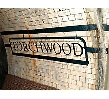 Welcome to Torchwood Photographic Print