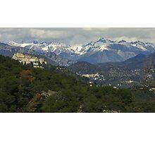 Village de provence - France Photographic Print