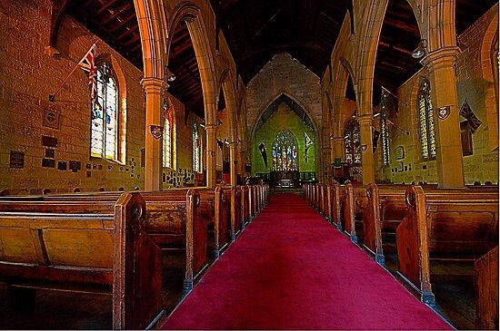 Garrison Church - The Rocks - The HDR Series by Philip Johnson