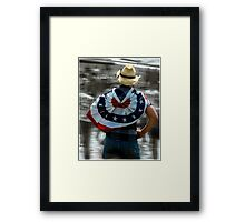 The Patriot  Framed Print