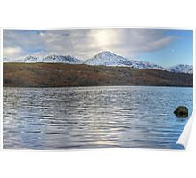 Across Coniston Water Poster