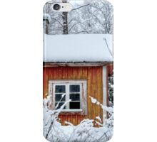 4.2.2015: Small and Abandoned Sauna I iPhone Case/Skin