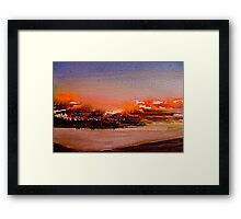 Landscape...Nothing Gold can Stay Framed Print