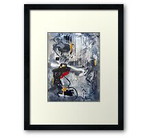 Moods III Framed Print