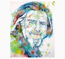 ALAN WATTS - watercolor portrait Unisex T-Shirt