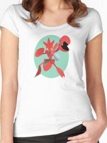 Scizor - 2nd Gen Women's Fitted Scoop T-Shirt