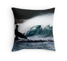 Surfer Boy Throw Pillow