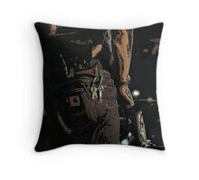 The Courier Throw Pillow