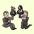 TMWRNJ puppets by dongpeiyen1000