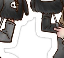 TMWRNJ puppets Sticker