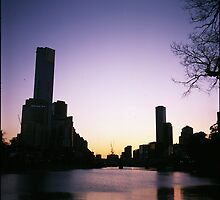 Yarra River Spring Sunset by aditmawar