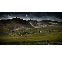 Conor Pass, Dingle, Ireland Photographic Print