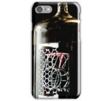 Time in a little glass bottle iPhone Case/Skin