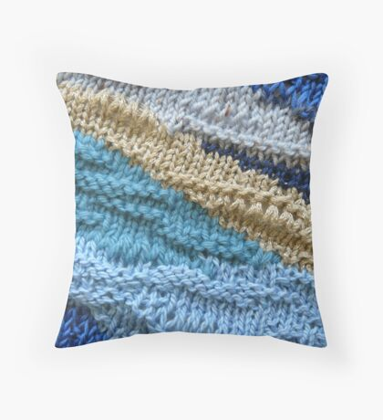 Beach IV Throw Pillow
