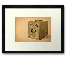 Brownie Target Six-20 Framed Print