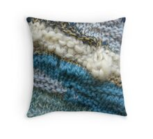 Beach V Throw Pillow
