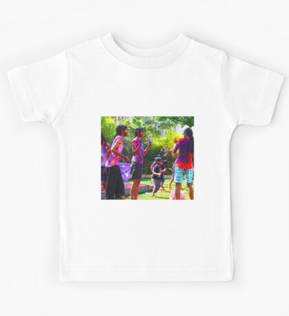 Holi Fun Kids Tee