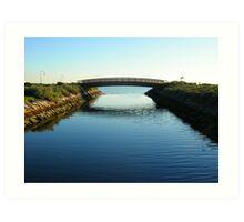 Elwood Canal Art Print