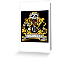 Polecats Patch Greeting Card