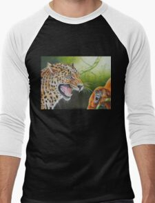 Naked and Afraid in Costa Rica Men's Baseball ¾ T-Shirt
