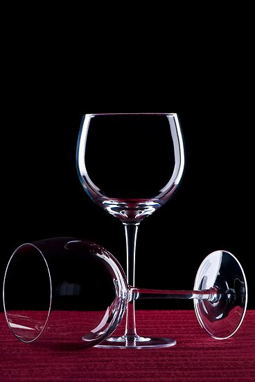 Wine Glass by Ryan Carter
