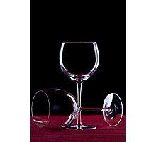 Wine Glass Photographic Print