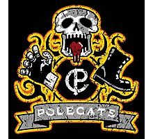 Polecats Patch Distressed Photographic Print
