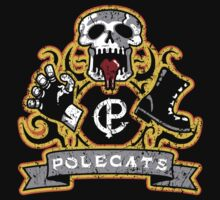 Polecats Patch Distressed Kids Clothes