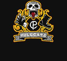 Polecats Patch Distressed Unisex T-Shirt