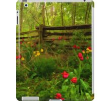 Dreamy Forest With Tulips - Impressions Of Spring iPad Case/Skin
