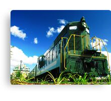 The End of the Line Canvas Print
