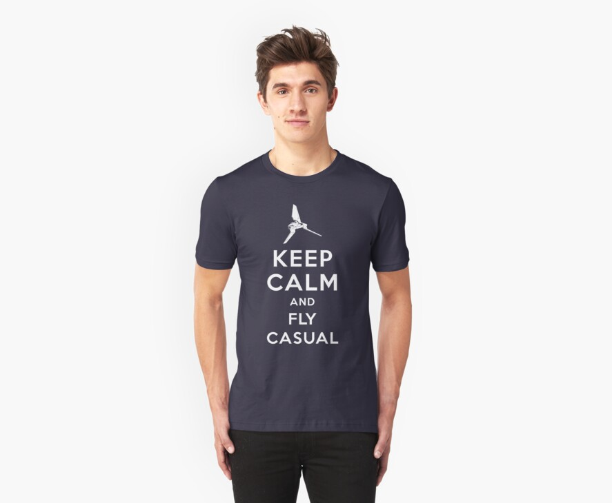 Keep Calm and Fly Casual by Olipop