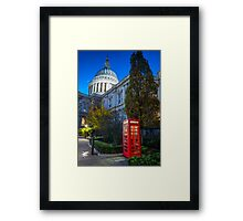 Excommunication @londonlights Framed Print
