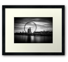 Counter-Revolution @londonlights Framed Print