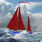 S/Y Magali, My Cutter Rigged Ketch by Dennis Melling