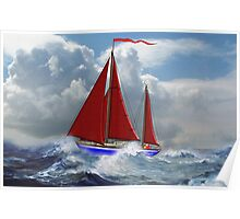 S/Y Magali, My Cutter Rigged Ketch - all products Poster