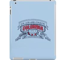 Columbia City Distressed iPad Case/Skin