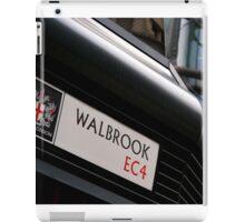 City Sign iPad Case/Skin
